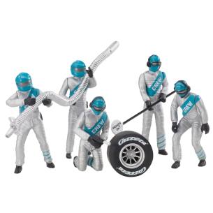Set Figuras Mecanicos Plata