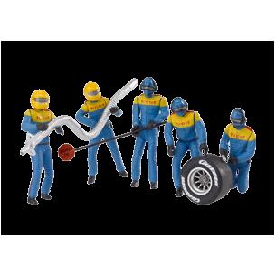 Set Figuras Mecanicos azules