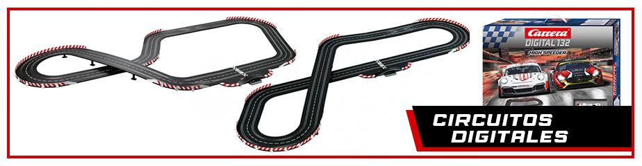 Circuitos Carrrera digital 132 / 124