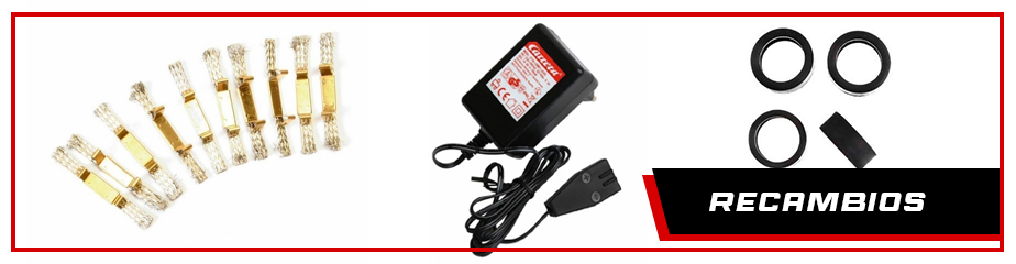 Spare parts for cars and Carrera digital circuits